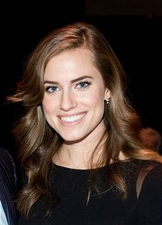 Allison Williams at the 11th Annual Giants of Broadcasting Honors this year  // Hair by Ryan Trygstad
