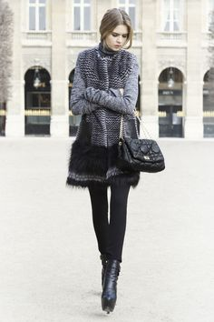 Look N° 4 / Autumn 2012 / Collection / READY-TO-WEAR / Woman / Fashion & Accessories / Dior official website