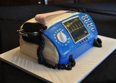 My defibrillator cake