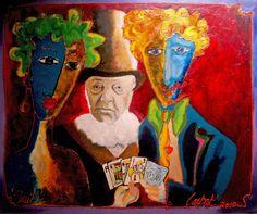 "Art - ""Paul Kruger"" - Artist Laurens Barnard - LAUBAR"