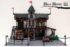 Lego Halloween, Legos, Big Ben, Crafting, Explore, Building, Photos, Lego, Pictures