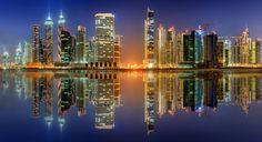 Business bay of Dubai, UAE by Vasyl Onyskiv - Photo 186099207 / 500px