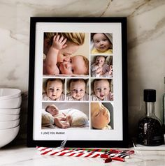 So many really pretty, affordable custom photo gifts for mom at Pinhole Press.