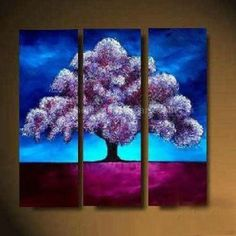 easy paintings of nature - Google Search