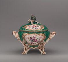 Tureen Maker: Sèvres Manufactory (French, 1740–present) Date: 1757–58 Culture: French, Sèvres Medium: Soft-paste porcelain