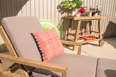 Weather-Resistant Poolside Lounger by west elm