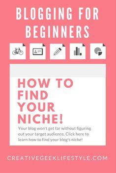 Blogging for Beginners: How to find your blogging niche! (scheduled via http://www.tailwindapp.com?utm_source=pinterest&utm_medium=twpin&utm_content=post186353507&utm_campaign=scheduler_attribution)