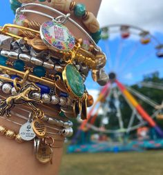 Faster Horses Music Festival   ALEX AND ANI Charm Bangles   ALEX AND ANI Musically Inspired Collection  