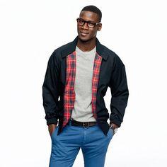 J.Crew - Baracuta G9 slim-fit Harrington jacket