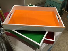 Aria Lacquer Serving Tray 11 x 17. $114.00/120.00 each.  #color