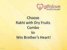 When you are in the search of a #Rakhigift that can perfectly express your feelings of care to your dearest #brother, Rakhi with Dry fruits Combo is the gift choice to make. At http://rakhi.giftalove.com/rakhi-with-dryfruits-26.html , there are amazing #RakhiwithDry Fruits choices available to buy online at market leading prices. You can choose Potli, Box, Tray or Thali of Mixed or distinctive Dry fruits to present your brother. Moreover you can buy and send Rakhi with dry fruit combo to…