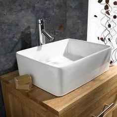 Moda-45cm-x-36cm-Rectangular-Basin-Countertop-Sink-Bathroom-Tap-and-Waste-Set