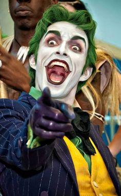 Joker. (Batman) what an amazing shot/costume...he's a great Joker!