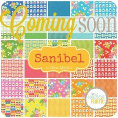 Sanibel - Jelly Roll (10030JR) by Gina Martin for Moda