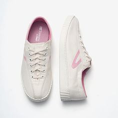 My childhood in one pair of shoes: Tretorn Nylite Canvas Tennis Shoe - Sea Pink - The Blues Jean Bar Tretorn Shoes, Kickin It Old School, White Sea, My Childhood Memories, The Good Old Days, Me Too Shoes, At Least, Canvas, My Style