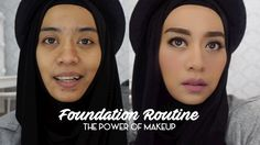 Foundation Routine | Tutorial Makeup Natural Untuk Acara Santai | inivindy