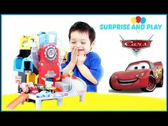 Disney Pixar Cars Toys Ferris Wheels Takara Tomy Parking Playset with Lightning McQueen and Sally! Chocolate Chip had so much fun playing with this fun cars ...
