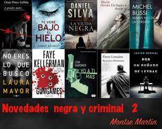 Con el alma prendida a los libros: Novedades negra y criminal 2