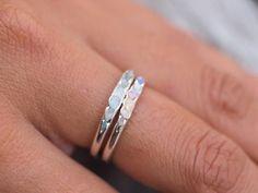 Aquamarine Ring // Hidden Gems - Gardens of the Sun Jewelry