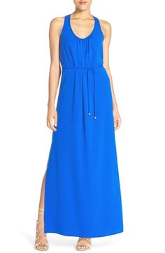 A by Amanda Button Back Maxi Dress available at #Nordstrom