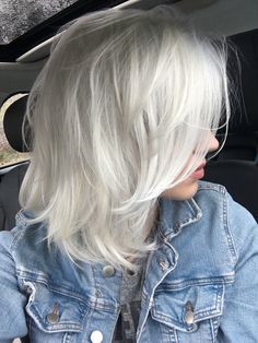 Silver Hair Color 41
