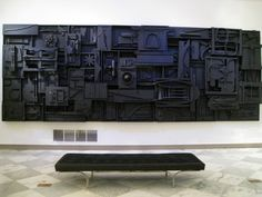 "Louise Nevelson, ""Sky Cathedral,"" American Art Museum"