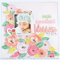 OUR+SWEETEST+BLOSSOM - Pink Paislee - Fancy Free Collection