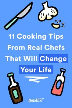 You're not that far from becoming your own Top Chef.  #greatist https://greatist.com/eat/easy-cooking-tips-from-pro-chefs