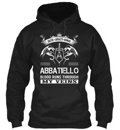 ABBATIELLO - Blood Runs Through My Veins