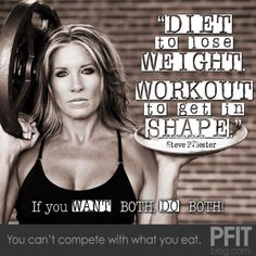 Thank you again Bonnie! So true! Biggest pet peeve: 'oh I can eat whatever I want, I did the elliptical today'. No workout ever erases crappy eating