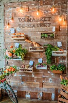 so much perfection. farm/fresh market wedding amorology: first comes love: Real Wedding: You, Me, Oui