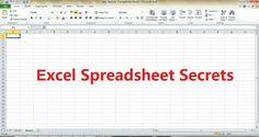 Best Hidden Tricks In Microsoft Excel #ComputerVirusHelp | Life Hacks |  Pinterest