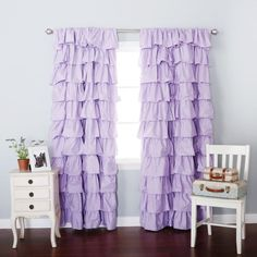 lavender blackout curtains s ddition ny grommet and white canada Nursery Curtains, Kids Curtains, Modern Curtains, Shower Curtains, Ruffle Curtains, Blackout Curtains, Velvet Curtains, Nursery Design, My New Room