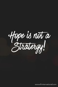 Partner with us! For growth hacking. Hope is not a Stratergy