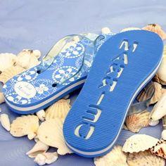 31a5e1f0bbe1f Just Married Flip Flops. Make an impression in the sand! Just Married Flip  Flops