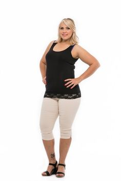 letné nohavice pre moletky Capri Pants, Spring Summer, Fashion, Moda, Capri Trousers, Fashion Styles, Fashion Illustrations