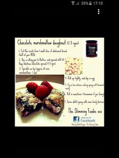 Slimming World Deserts, Slimming World Puddings, Sliming World, Pinch Of Nom, Sw Meals, Diet Recipes, Cooking Recipes, Chocolate Spread, Syn Free