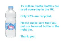 Plastic bottles.                    Gloucestershire Resource Centre http://www.grcltd.org/scrapstore/