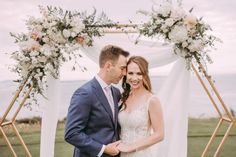 Elegant and easy defines this Eddy K real bride wedding day bringing organic and earthy to the forefront in Victoria, BC with the ocean as the backdrop. Wedding Shoot, Wedding Couples, Wedding Bride, Wedding Day, Bridal Gowns, Wedding Gowns, Eddy K, Flower Studio, Strictly Weddings