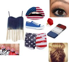 """""""Cute forth of July outfit"""" by halo7472 on Polyvore"""