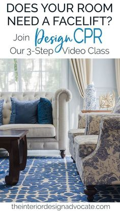 You know that room that's still not quite right and that you'd love to facelift or transform? Our 3-Step Room Perfecting Formula empowers you to get results using all or most of what you already own! Click here to join Design CPR with The Interior Design Advocate #designcpr #designtools #interiordesigntips #designvideos