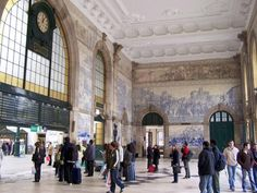 Porto - Sao Bento Train Station by Cornelius @Wikimedia.org