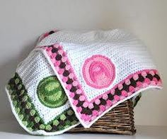 """Monogrammed Baby Blanket""...what a great idea!"