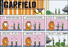 Garfield Comic Strip, September 18, 2016     on GoComics.com