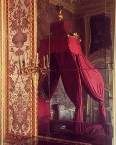 Palazzina di Caccia at Stupinigi Bed Drapes, Curtains, Dark Shades, Fabric Wallpaper, Rattan, Britain, Upholstery, Italy, Lighting
