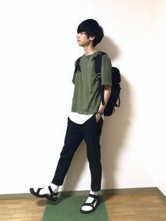 Instagram → rk.aaa777 Geek Fashion, Youth, The Unit, Backpacks, How To Wear, Bags, Beauty, Instagram, Handbags