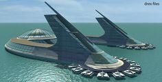 Jacque Fresco, along with his partner Roxanne Meadows, created in the 1990's, The Venus Project, in central Florida.