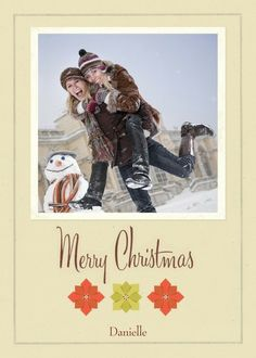 Canary | Hallmark Personalized Christmas cards from Treat.com