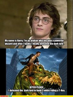 Harry Potter vs Harry Dresden both epic, but you can't argue with this