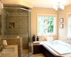 Spaces Shower Tub Combo, Small Bathroom Design, Pictures, Remodel, Decor and Ideas - page 11